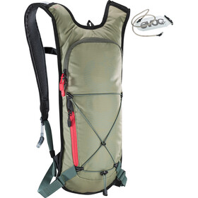 EVOC CC Lite Performance Reppu 3l + 2l Rakko, light olive